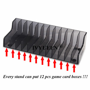 Image 4 - IVYUEEN 1 pcs for Nintend Switch NS Console Game Card Box Storage Stand Holder for NintendoSwitch Lite Disks Card Holder Stand