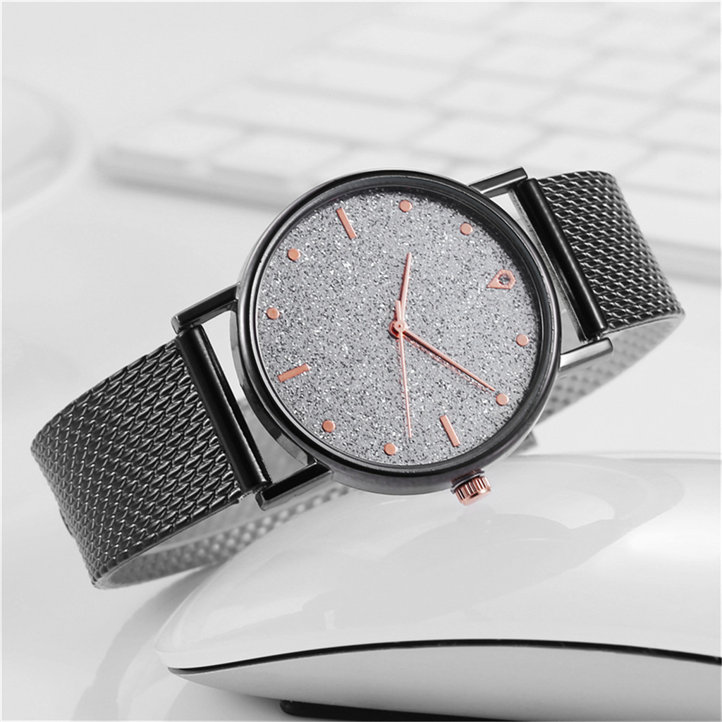 Fast delivery Business Women Watch Luxury Watches Quartz Watch Stainless Steel Dial Casual Bracele Watch Female Gift Cheap 3