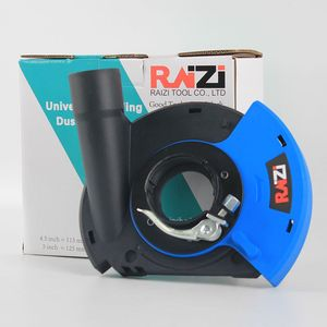 Image 5 - Raizi 5 インチ/125 ミリメートルアングルグラインダーダストシュラウドカバーツール乾燥表面研削ユニバーサルグラインダー集塵カバーキット