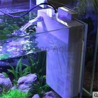 Atman Back Hanging Internal Filter Can Inset Heater For Aquarium Fish Tank Low water level small fish tank filter turtle tank