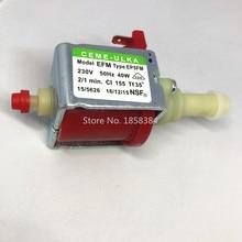 AC230V מקורי אותנטי קפה מכונת משאבת ULKA EP5FM אלקטרומגנטית pum רפואי ציוד כביסה machi