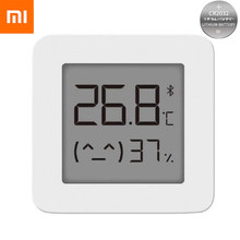 Xiaomi Mijia Thermometer 2 Bluetooth Smart Remote Control Electric Humidity Smart Home Wireless Hygrometer Moisture Thermograph