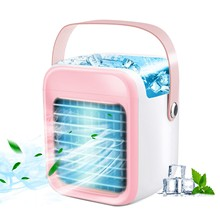 Portable Air Conditioner Fan, Rechargeable Evaporative Air Conditioner Fan