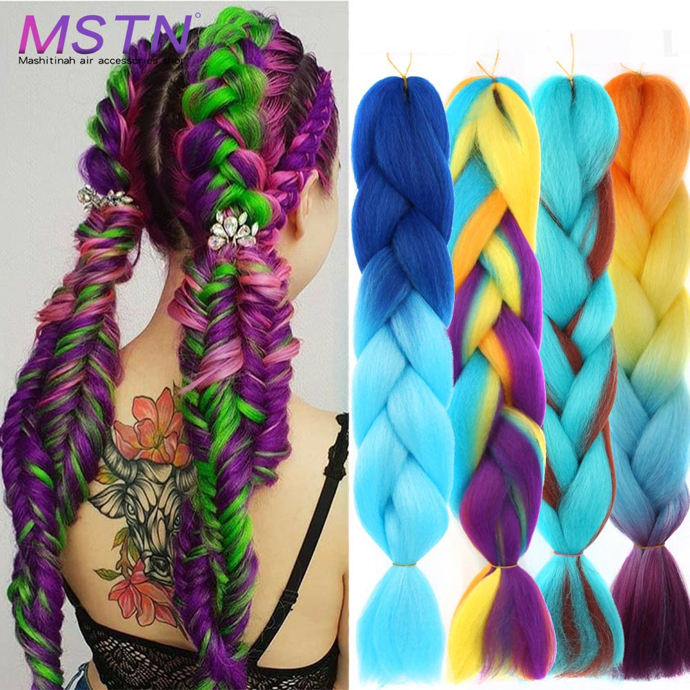 MSTN Ombre Large Braid Hair 24