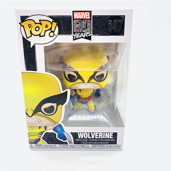 Funko Pop MARVEL 80YEARS WOLVERINE #547 Vinyl Action Figure Dolls Toys 2