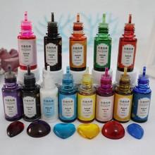 Epoksydowa Pigment 13 kolor płynna żywica epoksydowa barwnik 0.35oz barwnik charakteryzuje się wysokim stopniem koncentracji Pigment żywiczny kwiat na rzecz rzemiosło żywiczne