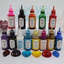 Epoxy Pigment 13 Kleur Vloeibare Epoxyhars Dye 0.35Oz Kleurstof Sterk Geconcentreerd Hars Pigment Bloem Gunst Resin Craft