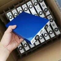 Envío Gratis impuesto 3,2 v 105Ah batería recargable Lifepo4 con conector para el almacenamiento de energía EV Luz de calle Solar coche eléctrico