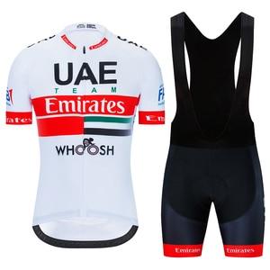 2020 UAE Team Emirates Kit Cycling Suit Colnago Shirts Champion Clothing Bike Jersey Set Ciclismo Ropa Jacket MTB Maillot Bib