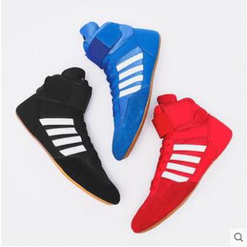 Autentyczne VeriSign buty zapaśnicze dla mężczyzn buty treningowe ścięgna na końcu Skórzane trampki profesjonalne buty bokserskie tanie i dobre opinie pscownlg Wodoodporna Oddychające Wysokość zwiększenie Winter2016 Pasuje prawda na wymiar weź swój normalny rozmiar