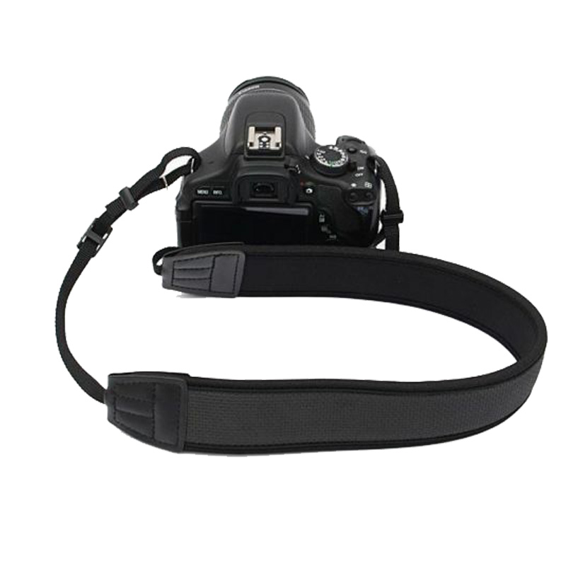 Universal Camera Shoulder Neck Strap Correia para Nikon Canon Sony DSLR Camera Fotografia Acessórios