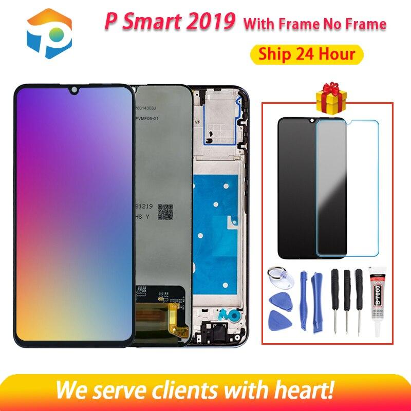 AAA Качество ЖК-дисплей для Hua wei Psmart 2019 ЖК-дисплей Дисплей с кодирующий преобразователь сенсорного экрана в сборе с рамкой для Psmart 2019 Repair Part