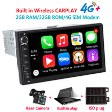 Multimedia-Player Autoradio Silverstrong Android Universal 2-Din DSP GPS 32G W4G 7062m3-X5