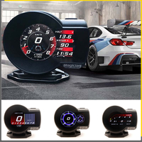 Car Digital Boost Gauge Profession Magician F8 F835 OBD 2 Display Voltage Speed Meter ect Water Temp Alarm Auto Diagnostic
