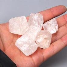 50g doğal temizle beyaz kristal taş reiki İskelet kuvars noktası kristal beyaz Nugget taş kristal şifa örnek toplama
