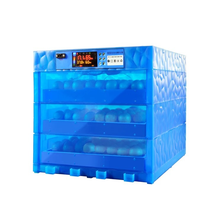 A 128/256 Eggs Incubator Fully Automatic Eggs Brooding Machine Home 220V Hatcher Incubation Tools With Ultrasonic Humidification
