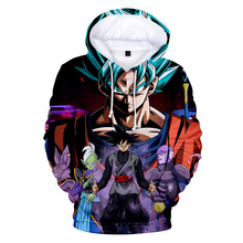 Cosplay Dragon Ball Hoodies Sweatshirts Discount Streetwear Sudadera Dragon Ball Sweatshirts High Quality Men's Clothes блокнот printio dragon ij cosplay