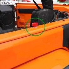 6 шт. жесткий Топ быстрого удаления винт крепежа комплект подходит для 2 двери 2007 до Jeep Wrangler JK 35x40x16 мм 3 цвета