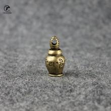Incense-Burner Decoration Tea Truth of Brass Six Keychain Words Desktop Aquarius Tibetan