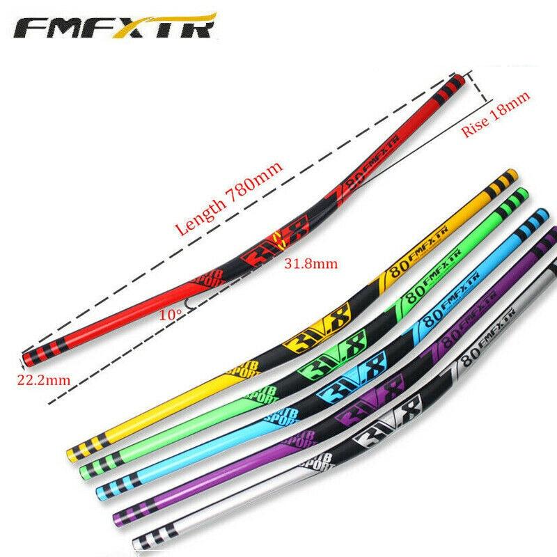 FMF MTB Mountain BIke bycle Handlebar Super light Flat Riser Bar 31.8*780mm