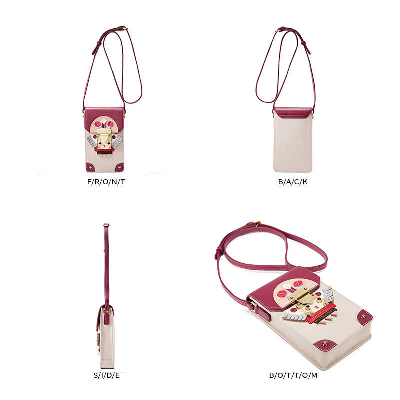 Emini casa estilo indiano saco de telefone split couro bolsas de ombro das mulheres do vintage crossbody sacos para as mulheres mini saco do mensageiro