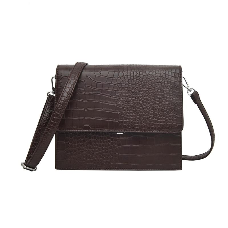 Малки ретро ретро женски чанти през - Дамски чанти - Снимка 4