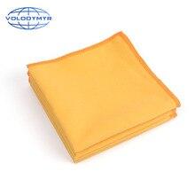 Volodymyr 10pcs In Microfibra Panni di Pulizia Nano Rivestimento In Ceramica di Vetro Asciugamano Auto Clean Tool Cura Dellauto Panno Arancione Per La Pulizia Auto