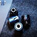 Dark Angelegenheit Jet Fingertip Gyro Messer Anhänger Titan Legierung Edelstahl Tragbare Spielen Erwachsene Dekompression EDC Messer Perlen