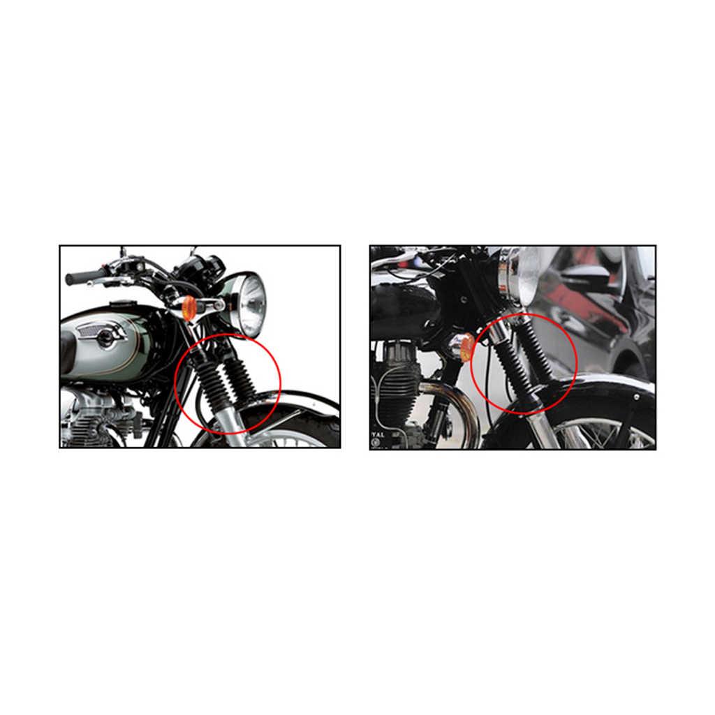 Motor Karet Garpu Shock Sepatu Pelindung Kaki Debu Cover 103 Mm untuk Yamaha JOG 50cc 90cc