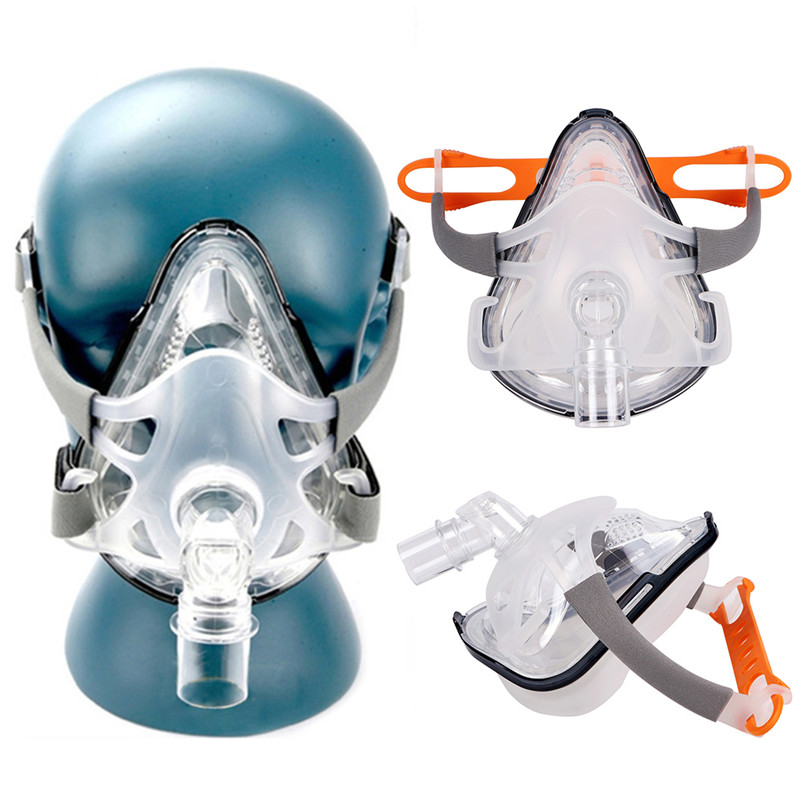 F1A Full Face CPAP Mask with Adjustable Headgear for Comfortable Respirator and Snoring Therapy 7