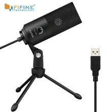 Microphone Cardioid Studio-Recording Vocals Laptop Windows Voice-Over-Youtube-K669 Fifine