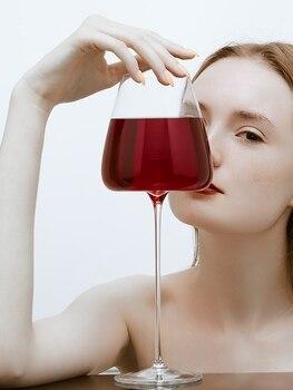 Creative 270-600Ml Convex Ultra-Thin Crystal Wine Glass 2