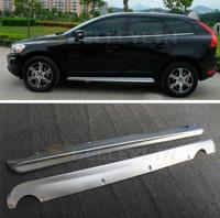 ABS Side Body Skirts Kit Lip Splitters Bumper Molding Cover Trim For Volvo XC60 2009 2010 2011 2012 2013 Year