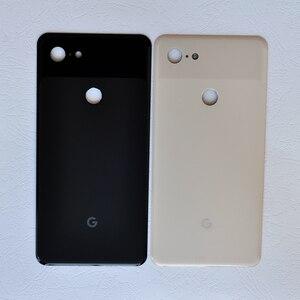 Image 5 - Задняя крышка Pixel3 XL для Google Pixel 3 XL, 6,3 дюймов, оригинальный корпус, задняя крышка, ремонт, замена, чехол для аккумулятора