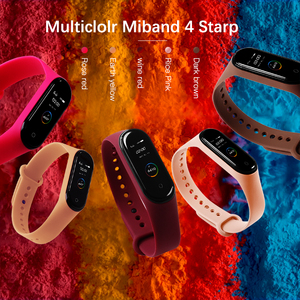Image 2 - BOORUI for xiaomi mi band 4 strap new fashional colorful miband  5 strap silicone mi band 4 belt replacement for mi band 3 4 5