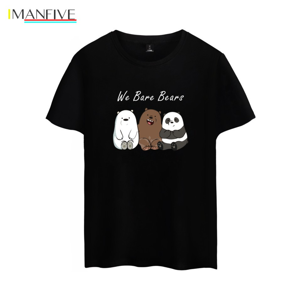 Wir <font><b>Bare</b></font> <font><b>Bears</b></font> <font><b>T</b></font>-<font><b>shirt</b></font> Männer Frauen Kind <font><b>T</b></font> Hemd Cartoon Tops Streetwear image