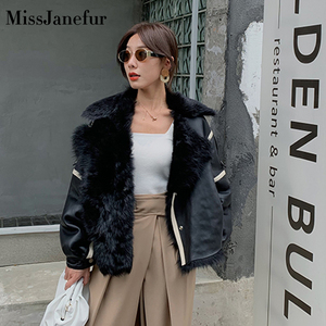 Image 2 - Kadın gerçek koyun derisi DERİ CEKETLER en kaliteli hakiki deri ceket moda ceket bayan yeni varış
