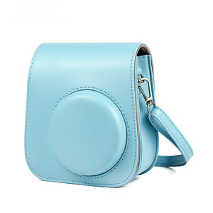 Image 4 - For Fujifilm Instax Polaroid mini11 mini 11 Handbags Shoulder Camera Protective Case Colorful Patterns Leather Camera Bag