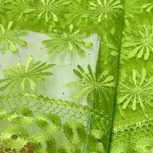 Новинка 2020 высококачественное зеленое Африканское кружево