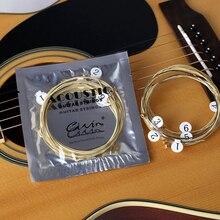 Guitar-String Acoustic-Guitar Retail-Bag Practice Nickel-Plated Steel Original with 6pcs