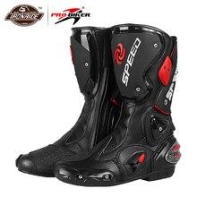 PRO-BIKER; Мужские ботинки в байкерском стиле; обувь для мотокросса; ботинки для езды по бездорожью