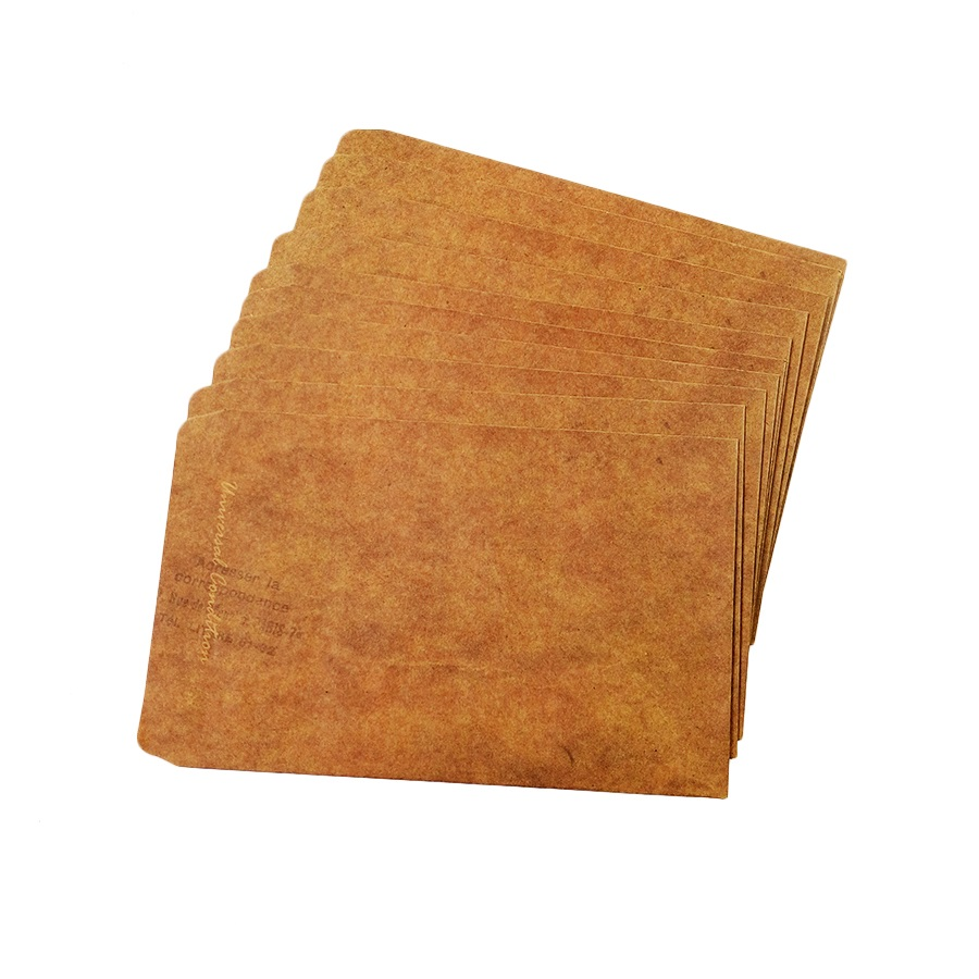 10pcs/lot Classic Kraft Paper Gift Envelopes Wooden Lubricious 160*110mm Envelope