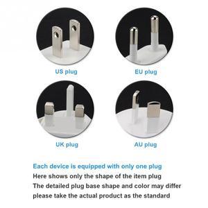 Image 5 - Protezione da sovraccarico Indicatore LED Adattatore di Alimentazione Spina Nera Leggero Caricabatteria
