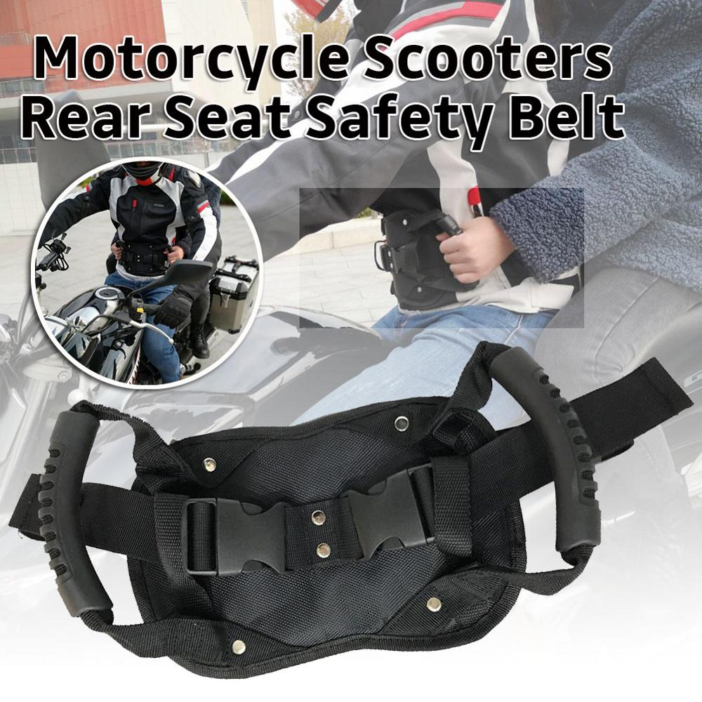 BESPORTBLE Motorcycle Passenger Safety Belt Safer Way to Ride with Passenger for Motorcycle Motocross ATV Scooter Snowmobile
