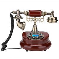 Push Button Telephone MS 6100B European Retro Style Push Button Telephone Dial Desk Phone Home Decor Classical telefon|Telephones| |  -