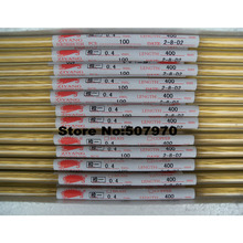 Ziyang Brass Electrode Tube Single Hole 0.4*400mm  for EDM Drilling Machine