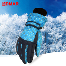 Ski Gloves Waterproof Gloves Snowboard Heated Motorcycle Riding Climbing Gloves Warm Snowmobile Snow Gloves Women Kids очки mx riding crows snowmobile medium 2015