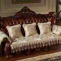 Новинка 2019  плотные чехлы для диванов в европейском стиле  чехлы для диванов с цветочным дизайном  декоративные противоскользящие диванные ...