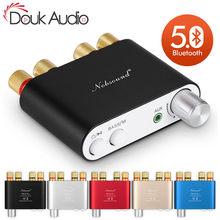 Nobsound mini amplificador tpa3116 com bluetooth, amplificador digital, stereo, hifi, para casa, áudio 50w * 2