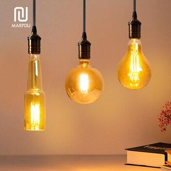 Della Corda del LED Lampada a Sospensione Base AC85-265V Lampadina E27 Presa di Luce Creativa Paese Stile Loft Industriale Luce Del Pendente Decorazioni 1